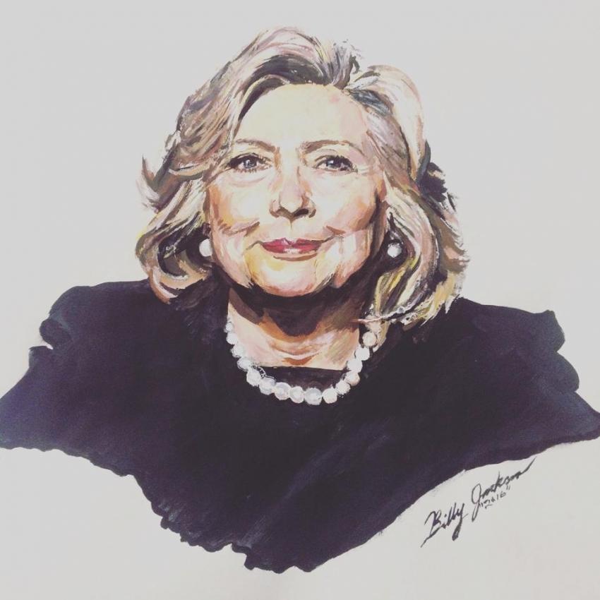 Hillary Clinton by billyhjackson